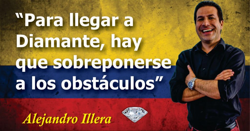 Alejandro Illera primer diamante de colombia amway