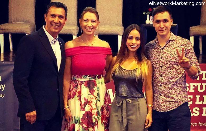 Sergio y Charo Rivera con Pablo Di Benedetto y Alejandra Aguilar